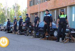 Agentes de toda España participan en las V Jornadas de perros detectores de la Policía Local
