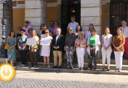 Minuto de silencio en señal de repulsa por el asesinato de una mujer en Astorga