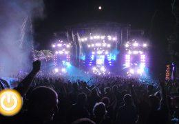 12.000 personas vibran en la primera edición del 'Alcazaba Festival'