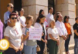 Minuto de silencio por una nueva víctima de violencia de género