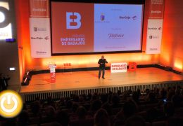 José Luis Joló recibe el Premio Empresario de Badajoz