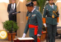 El alcalde asiste a la toma de posesión del nuevo general de la Guardia Civil en Extremadura