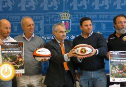 Más de 700 niños participarán en la cuarta convivencia de rugby en Badajoz