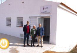 La barriada de Llera ya cuenta con nuevo espacio para sus mayores