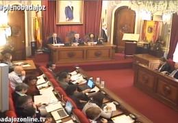 Pleno ordinario de febrero 2019 Ayuntamiento de Badajoz