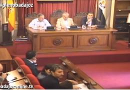 Pleno extraordinario de mayo de 2019 Ayuntamiento de Badajoz