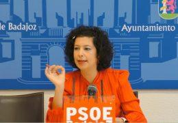 Rueda de prensa PSOE- Barriadas de Badajoz