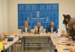Rueda de prensa alcalde – 'Badajoz se cuida'