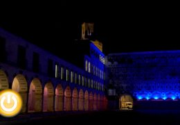 Badajoz, la ciudad encendida