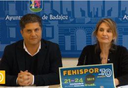 Rueda de prensa concejala Ifeba- Presentación Fehispor