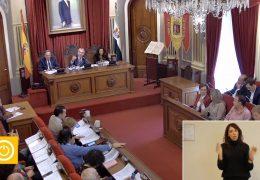 Pleno Ordinario de Noviembre del 2019 del Ayuntamiento de Badajoz