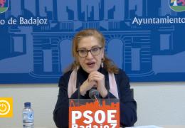 Rueda de prensa Grupo Municipal Socialista- Limpieza río Guadiana