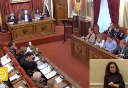 Pleno Ordinario de Diciembre del 2019 del Ayuntamiento de Badajoz