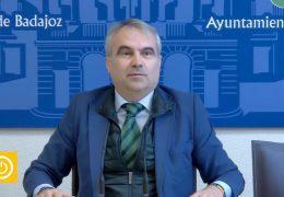 Rueda de prensa alcalde- Ayuntamiento de Badajoz