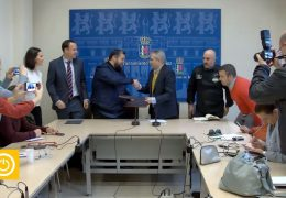Rueda de Prensa alcalde- Convenio Saborea Badajoz