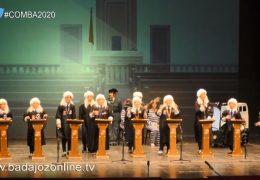 Sopeña sueña con dictar sentencia- Concurso de Murgas Infantiles Badajoz 2020