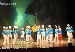Los de azul celeste- Concurso de Murgas Infantiles Badajoz 2020