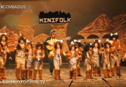 Los minifolk se quedan de piedra- Concurso de Murgas Infantiles Badajoz 2020