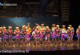 Los minifolk cablean a todo el mundo- Concurso de Murgas Juvenil Badajoz 2020