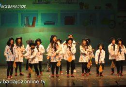 Los que se jartan de paleta- Concurso de Murgas Juvenil Badajoz 2020
