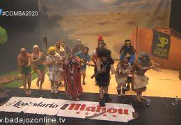 Los que se reparten el testamento- Semifinales Concurso de Murgas Carnaval de Badajoz 2020