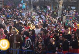 El Carnaval de día se afianza en Badajoz