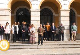 Badajoz guarda silencio por la mujer asesinada en Fuenlabrada
