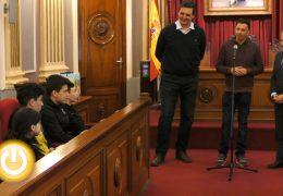 Rueda de prensa alcalde- Recepción deportistas de kickboxing