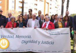 Badajoz homenajea a las víctimas del terrorismo