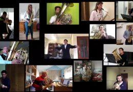 La Banda Municipal de Música de Badajoz interpreta la pieza 'Jerusalén'