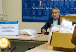 El Ayuntamiento recibe una donación de 9.100 mascarillas