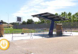Badajoz ya cuenta con un intercambiador modal para recargar vehículos eléctricos
