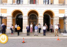 Badajoz guarda un minuto de silencio por las últimas víctimas de violencia de género
