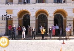 Badajoz continuará de luto por las víctimas del Covid-19 hasta el final del estado de alarma