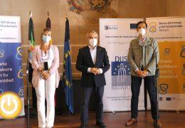 Rueda de prensa alcalde-Presentación Banco del Tiempo y el Voluntariado