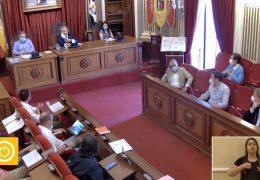 Pleno Ordinario de Junio del 2020 del Ayuntamiento de Badajoz