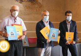 Rueda de prensa alcalde- Presentación cuadernos educativos