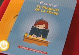 """Francisco Crespo presenta """"Enseñanza de la lectura comprensiva"""" y """"El trabajo de la frase"""""""