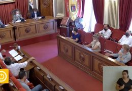 Pleno Ordinario y Extraordinarios Agosto 2020 Ayuntamiento de Badajoz