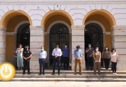 Minuto de silencio en Badajoz para condenar el último crimen machista