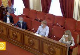Rueda de prensa equipo Gobierno- Ayudas autónomos y pymes