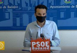 Rueda de prensa PSOE Badajoz sobre el Carnaval de Badajoz