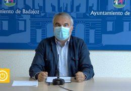 Rueda de prensa del Alcalde de Badajoz Francisco Javier Fragoso
