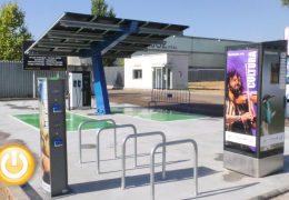Instalada la primera base de carga rápida para vehículos eléctricos