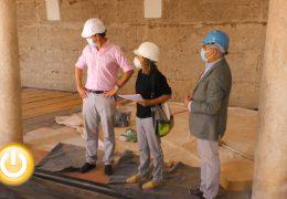 Rueda de prensa alcalde- Visita obras La Galera