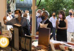 Inaugurada una atípica edición de la Feria del Libro de Badajoz