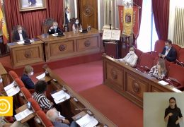 Pleno ordinario de Septiembre 2020 Ayuntamiento de Badajoz