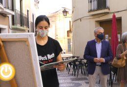Rueda de prensa alcalde- Concurso de pintura al aire libre