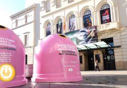 Badajoz y Ecovidrio invitan a reciclar vidrio contra el cáncer de mama