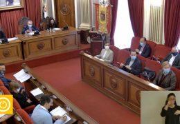 Pleno ordinario de Octubre 2020 Ayuntamiento de Badajoz